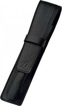 Liberté Pen Case – Grained Black Leather