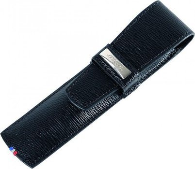 Line D Single Pen Case – Black Contraste