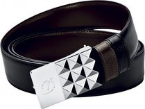Line D Business Reversible Belt Delta Box - Palladium